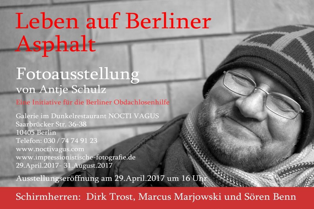 Ausstellung Berliner Obdachlosenhilfe